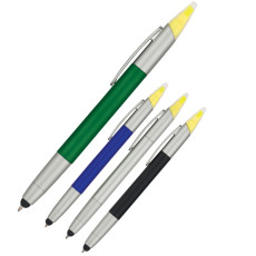 Customizable 3-In-1 Pen with Highlighter And Stylus