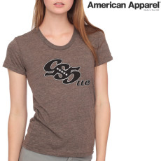 American Apparel TR301 / Women's Tri-blend Short Sleeve Track Tee