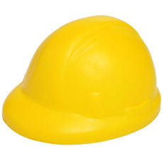 Imprinted Hard Hat Stress Reliever