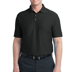 Port Authority Horizontal Texture Polo (Apparel)