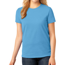 Port & Company Ladies 5.4-oz 100% Cotton T-Shirt (Apparel)