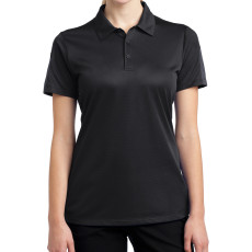 Sport-Tek Ladies PosiCharge Active Textured Colorblock Polo (Apparel)