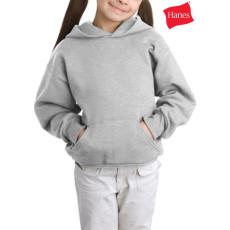Hanes Youth Hooded Sweatshirt