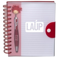 Canada Patriotic MopTopper Stylus Pen & Notebook Set