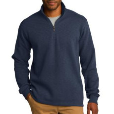 Port Authority Slub Fleece 1/4-Zip Pullover
