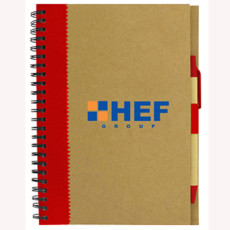 Printed Recycled Paper Notebook