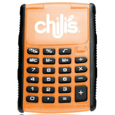 Promotional Printed Large Solar Flip Calculator