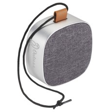 Tahoe Metal and Fabric Waterproof Bluetooth Speaker