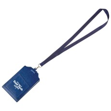 Event Lanyard with Pocket Notes Pad