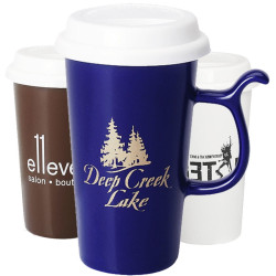 13 oz. Ceramic Travel Mug