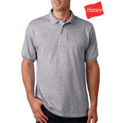 Hanes Stedman 5.2oz Jersey Knit Sport Shirt
