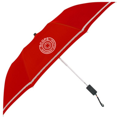 "Promotional 44"" Arc Two-Tone Safety Umbrella"