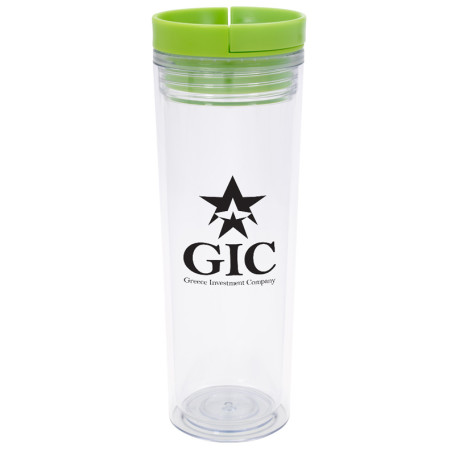 16 Oz. Double Wall Slider Tumbler