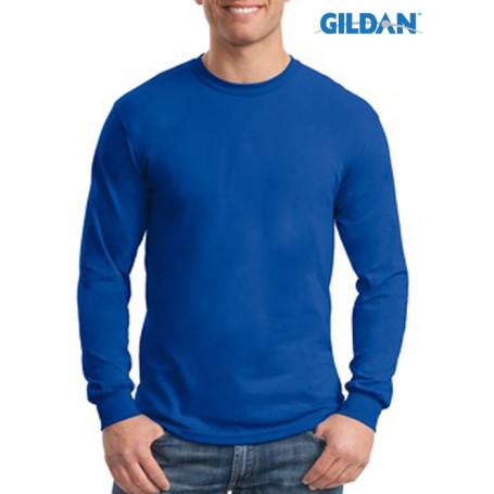 Gildan Ultra Cotton Poly Long Sleve T-Shirt