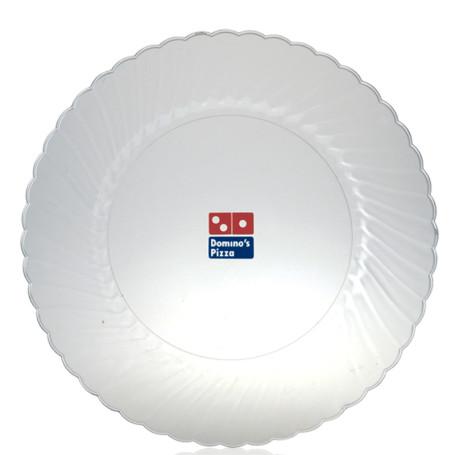 """10"""" Classicware Clear Plastic Plates"""
