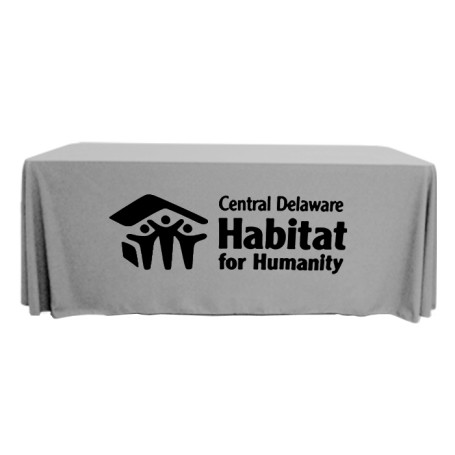 Logo 4' 3-Sided Table Cover