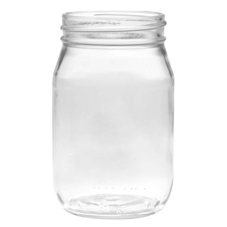 16oz Glass Mason Jar