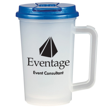 Custom 22 Oz. Double Wall Tumbler With Handle