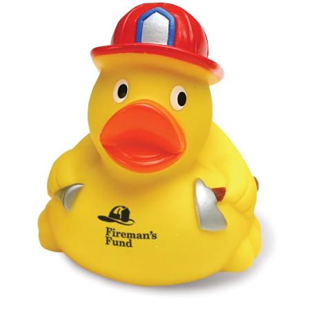 Custom Fireman Rubber Duck