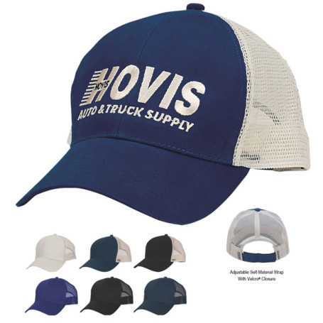 Custom-Logo-Mesh-Back-Price-Buster-Cap