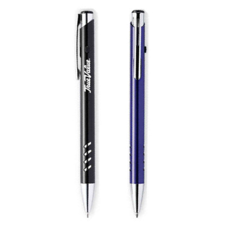 Ballpoint Click Pen with Aluminum Barrel