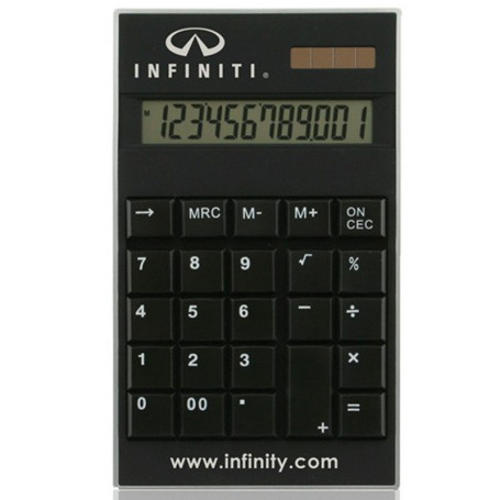 Custom Printed Slim Solar Calculator
