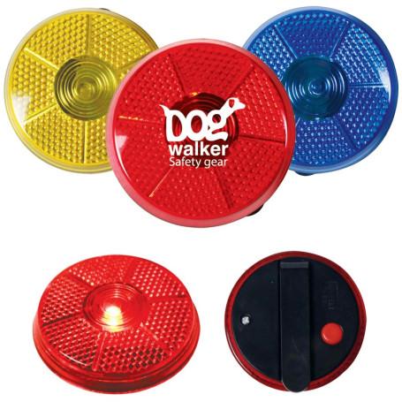 Custom Round Flashing Button