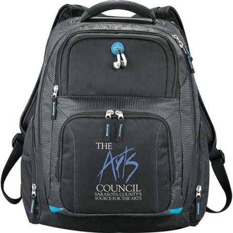 Custom Zoom Checkpoint-Friendly Compu-Backpack