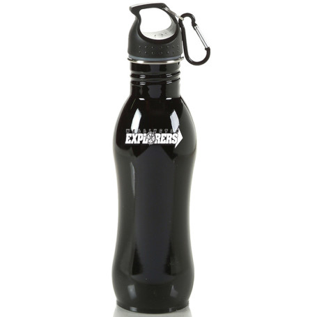 Custom 25 oz Curved Stainless Sports Bottle
