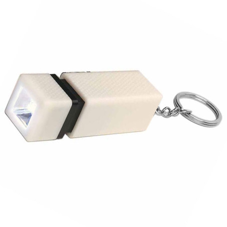 Customizable Square LED Key Chain