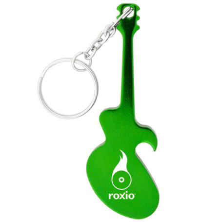 Imprintable Guitar Key Chain