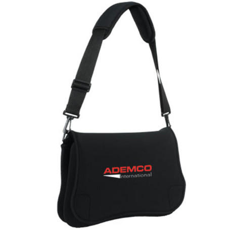 "Imprinted 15.4"" Neoprene Laptop Bag"