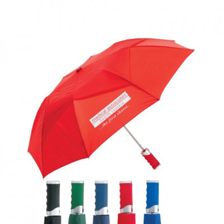 "Imprinted Geleez 43"" Arc Umbrella"