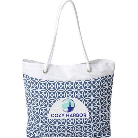Imprinted Rope Tote