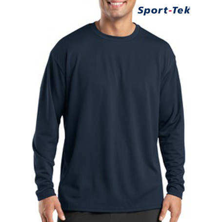 Sport-Tek® - Dri-Mesh® Long Sleeve T-Shirt