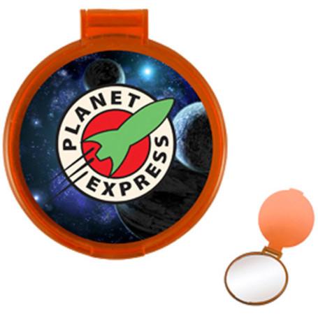 Logo Round Compact Mirror