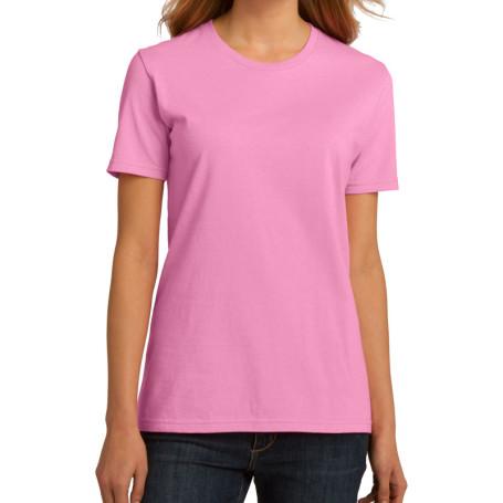 Port & Company Ladies Essential 100% Organic Ring Spun Cotton T-Shirt (Apparel)