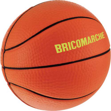 Monogrammed Basketball Stress Reliever