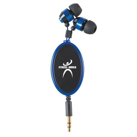 Retractable Metal Ear Buds