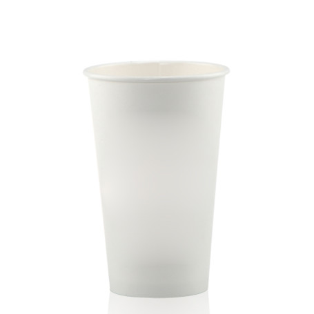 16 oz. White Paper Cups