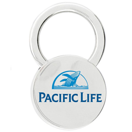Personalized Cerchio Key Chain