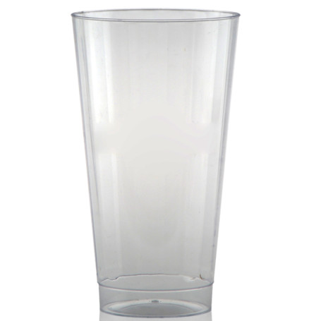 16 oz. Clear Fluted Plastic Cups