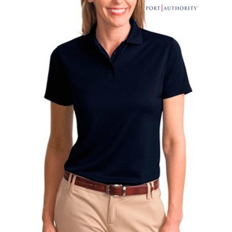Port Authority Ladies Bamboo Blend Pique Shirt
