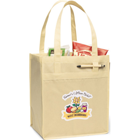 Printed Deluxe Grocery Shopper