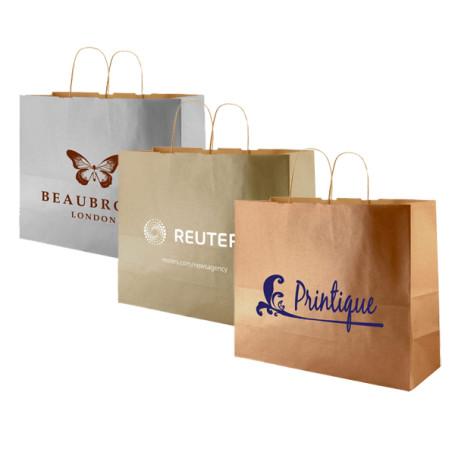 Printed-Precious-metals-kraft-shopping-bags