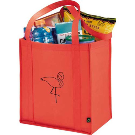 Promo PolyPro Non-Woven Little Grocery Tote