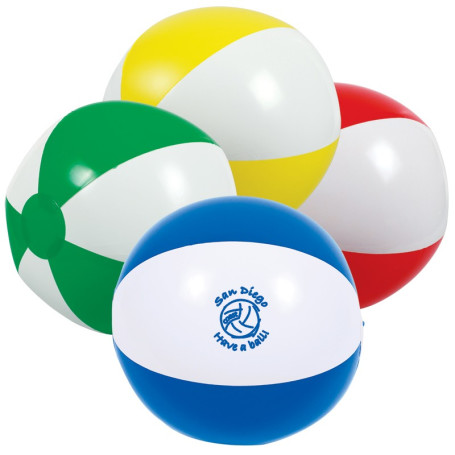"Promotional 16"" 2-Tone Beach Ball"