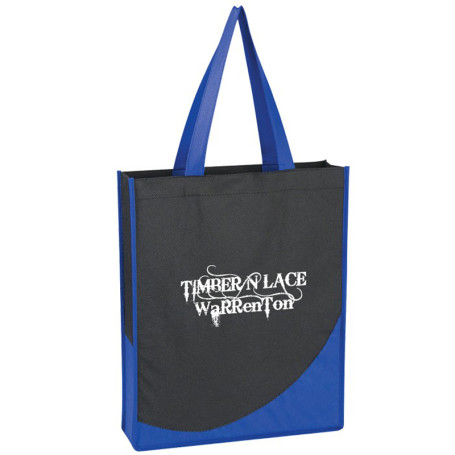 Promotional Non-Woven Tote with Accent Trim