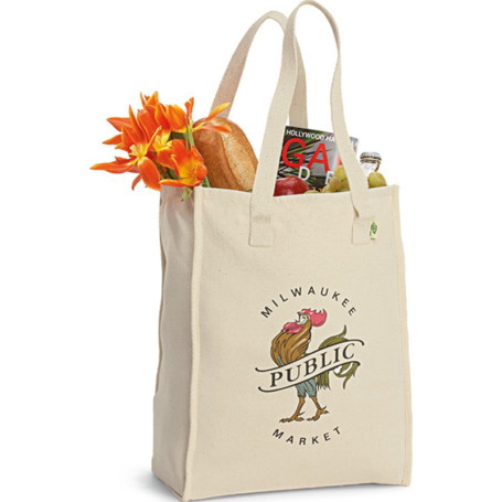 Promotional Recycled Cotton Market Bag