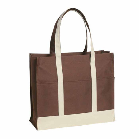 Promotional Two-Tone Tote Bag